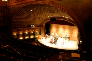 The Bing Crosby Theater is virtually unchanged since it opened 100 years ago.